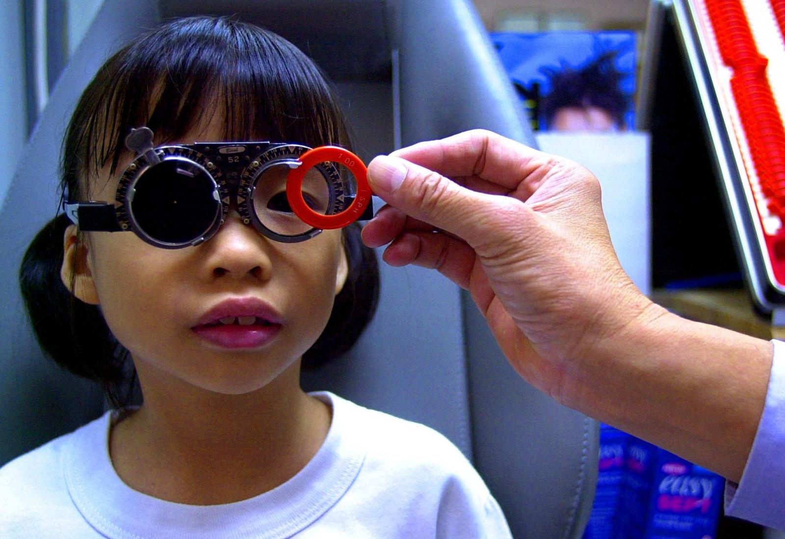 An eye test
