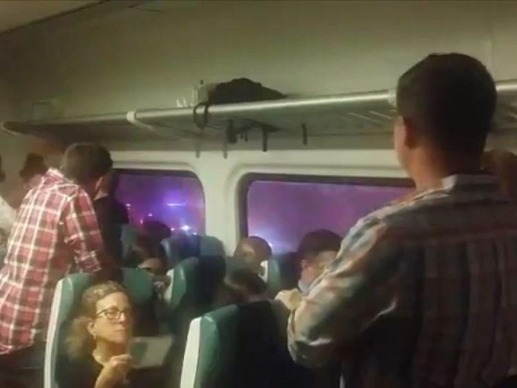 New York train derailment