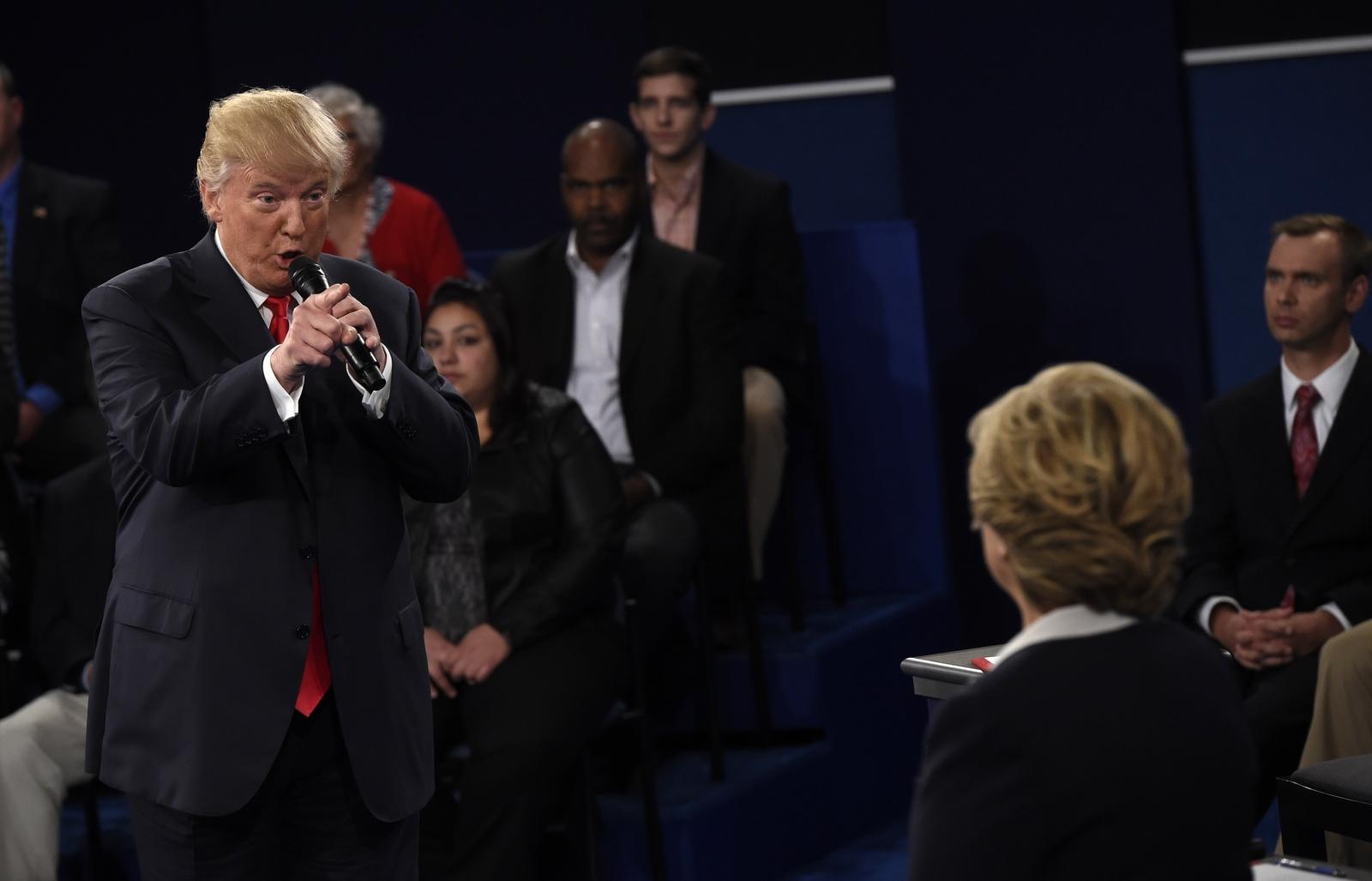 Second US presidential debate