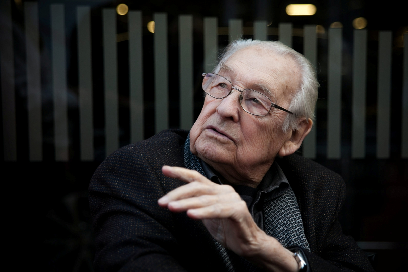 Oscar-winning Polish film director Andrzej Wajda