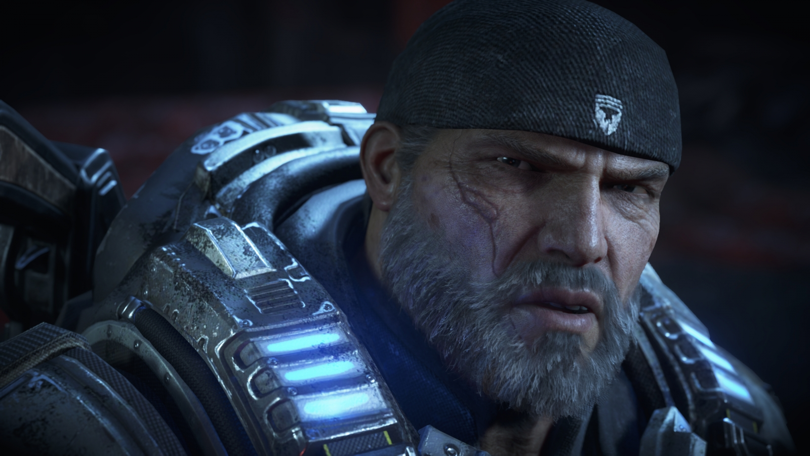 Gears of War 4 Marcus Fenix