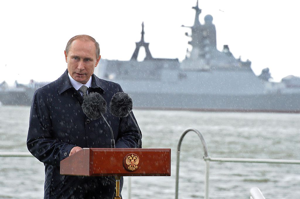 Putin Baltiysk