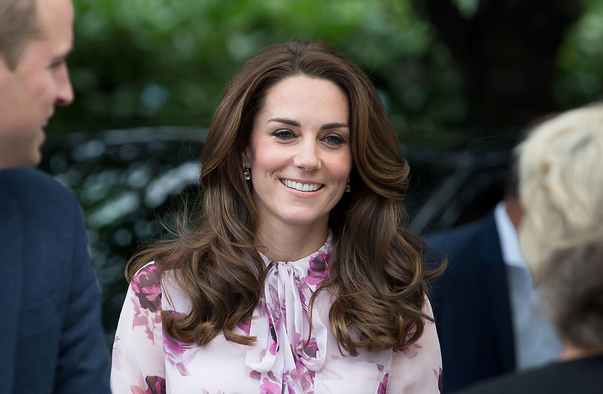 William, Kate and Harry meet inspirational helpers on Mental Health Day