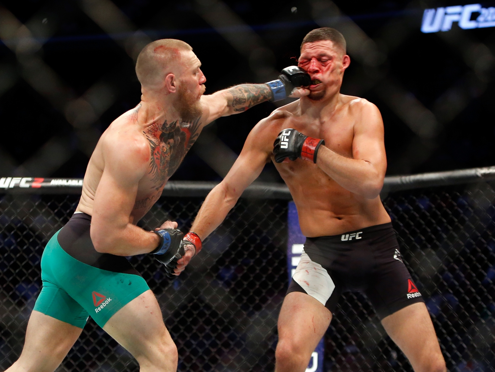 Conor McGregor vs Nate Diaz II