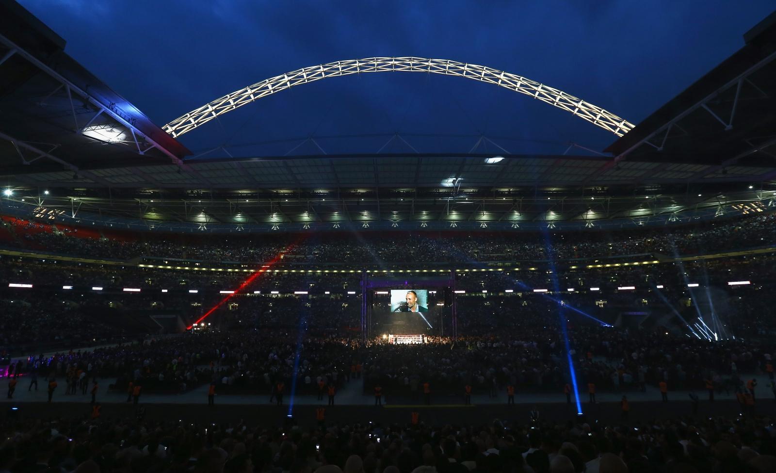 Amir Khan vs Kell Brook: Wembley Stadium super-fight must ...