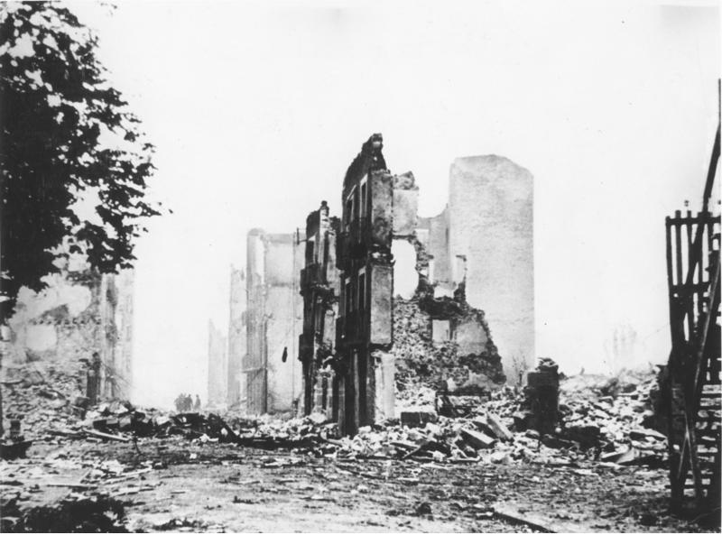 The ruins of Guernica