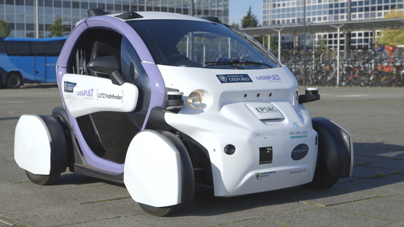 Selenium: UK's first self-driving public space
