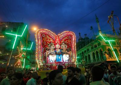 Dussehra Durga Puja Dashain Hindu festival Ravana