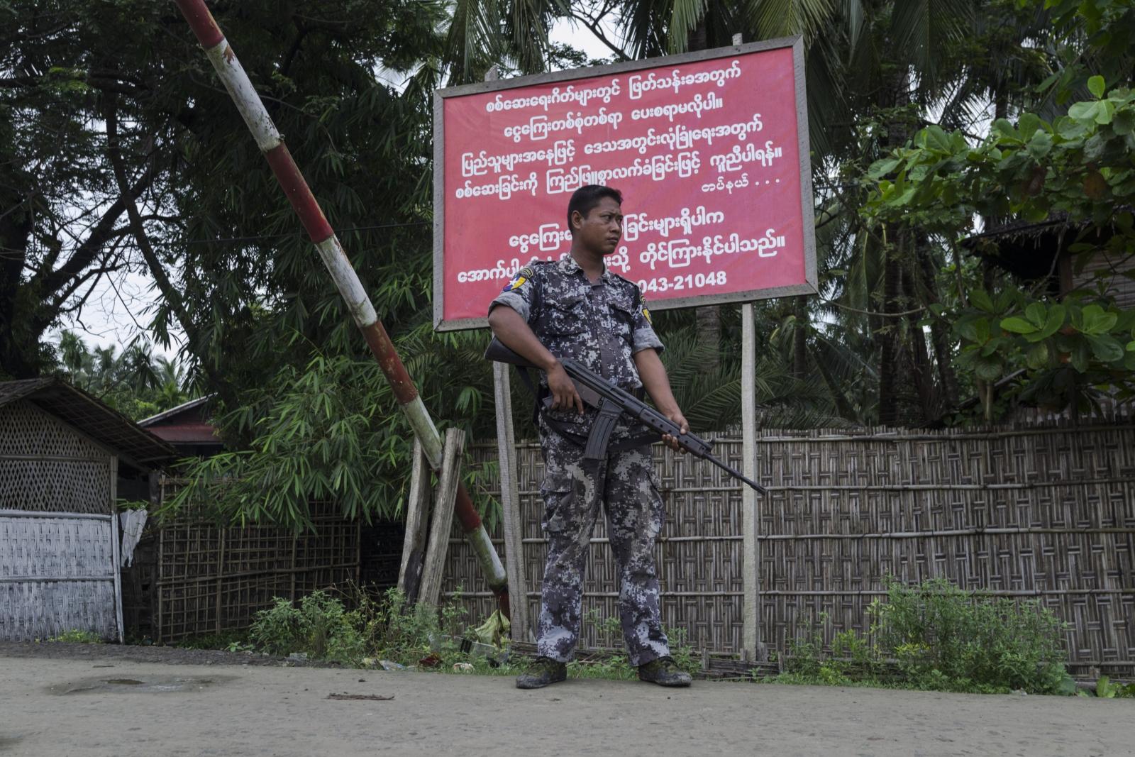 Myanmar unrest