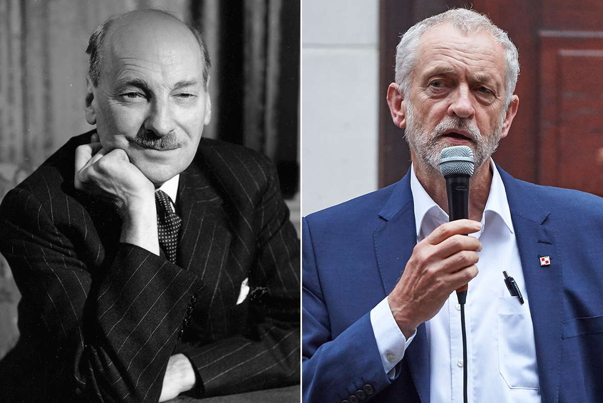 Clement Attlee, Jeremy Corbyn