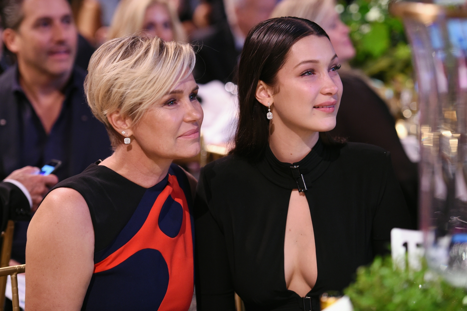 Bella Hadid and Yolanda Hadid