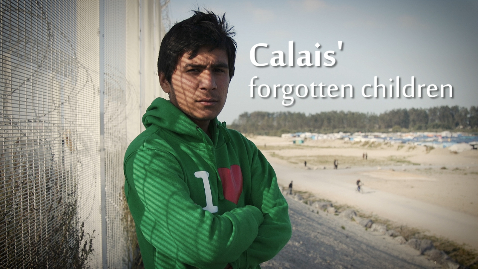 Calais' forgotten child refugees
