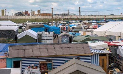 Calais Jungle dismantle