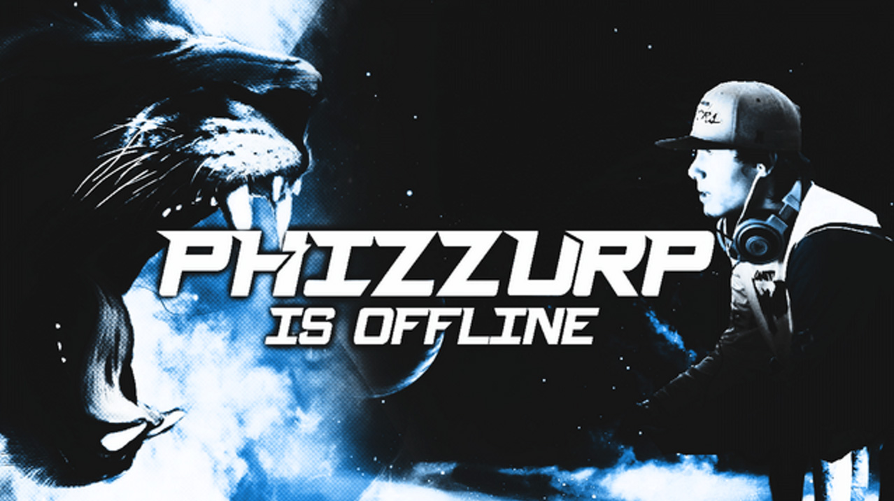 Phizzurp's Twitch channel message