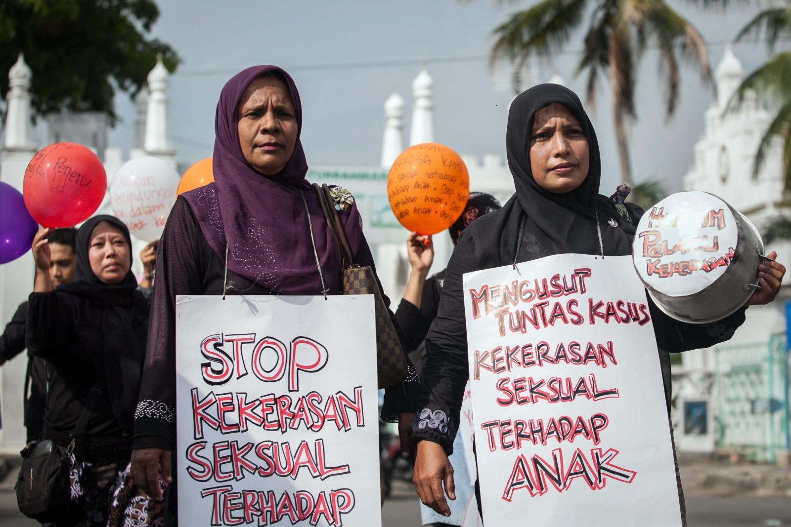 Indonesia paedophiles