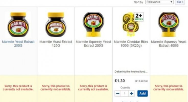 Marmite tesco