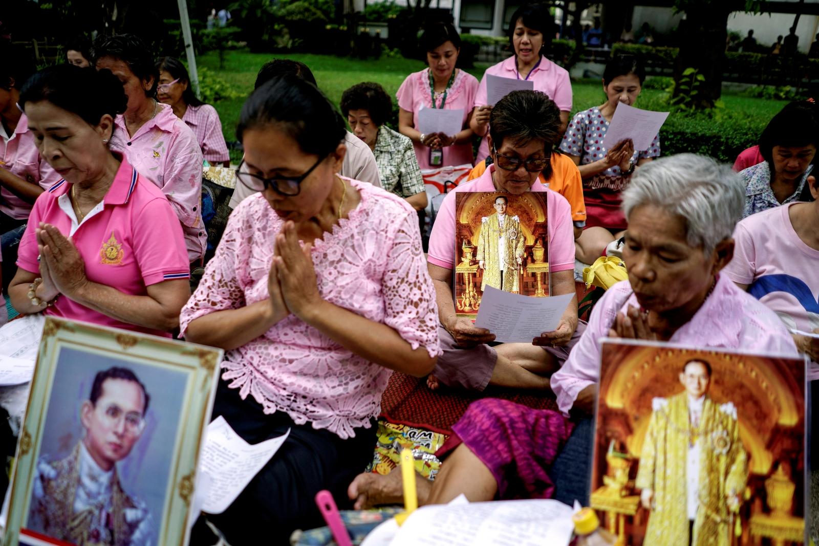 Thai king health
