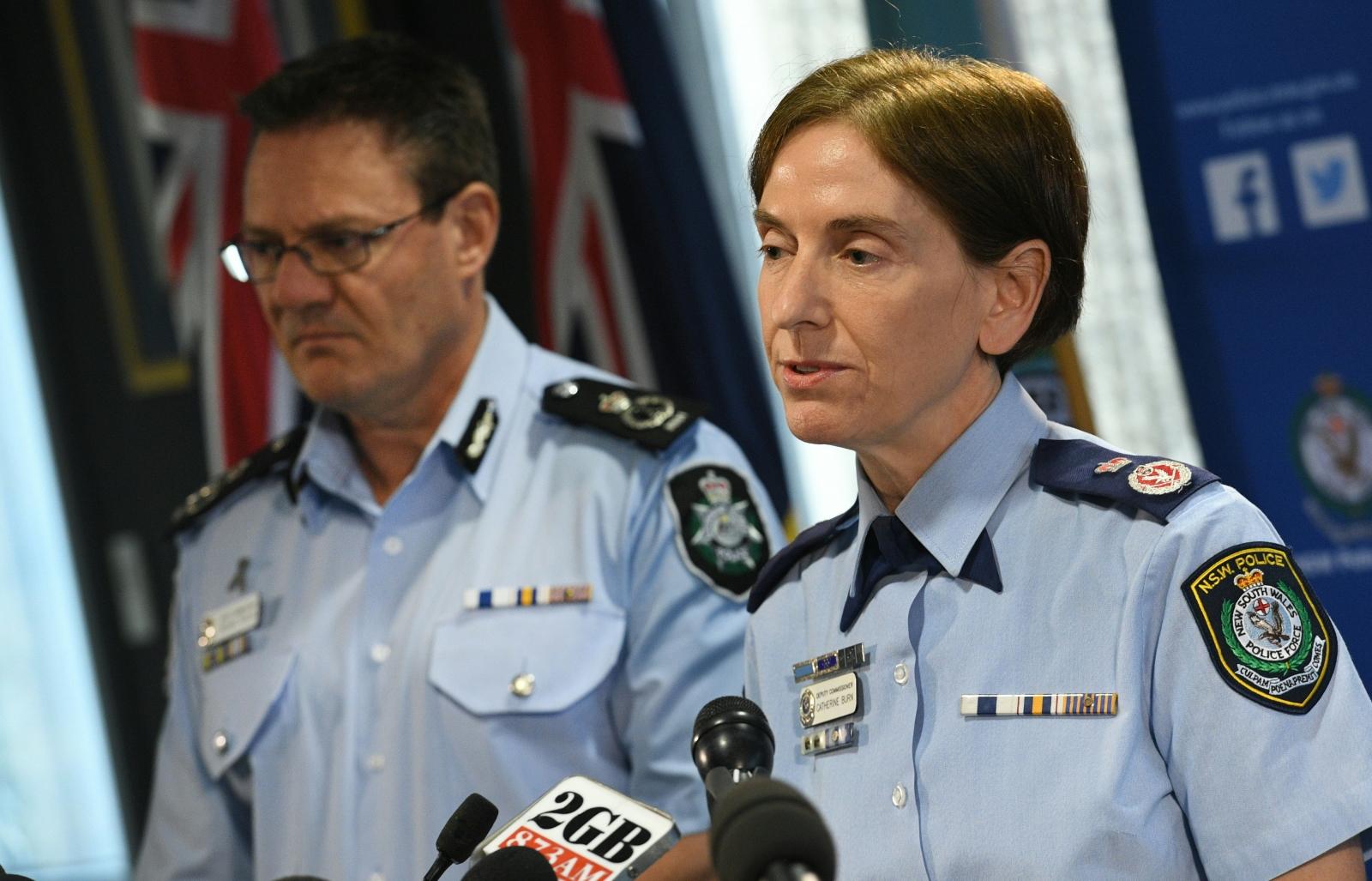 Sydney terror charge