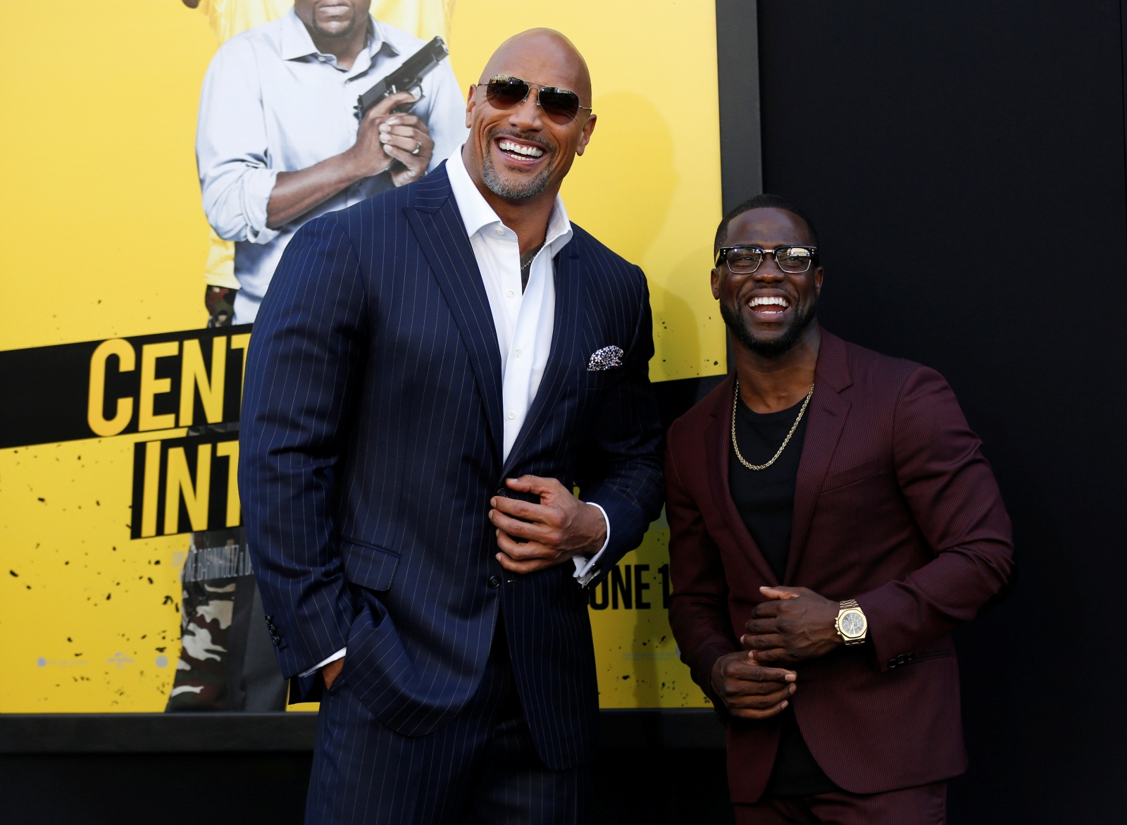 Kevin Hart says he is a 'much better' actor than Dwayne