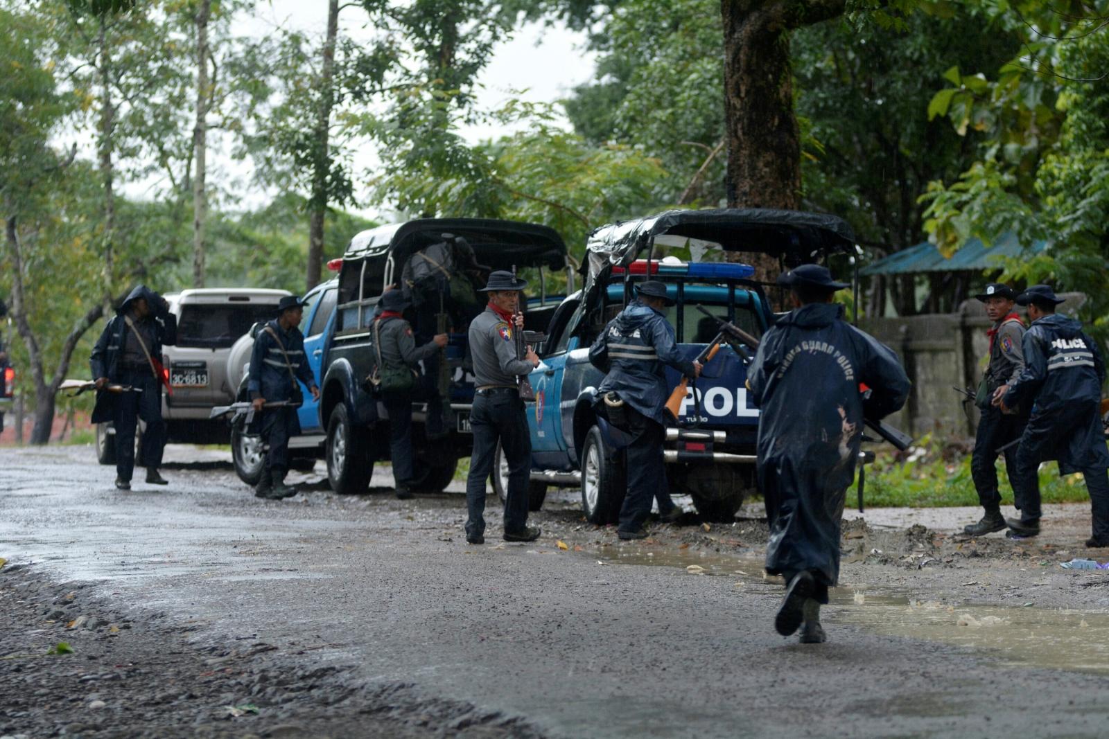 Myanmar Rakhine state clashes