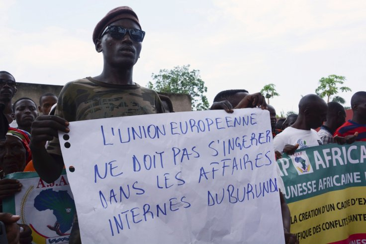 Burundi protests