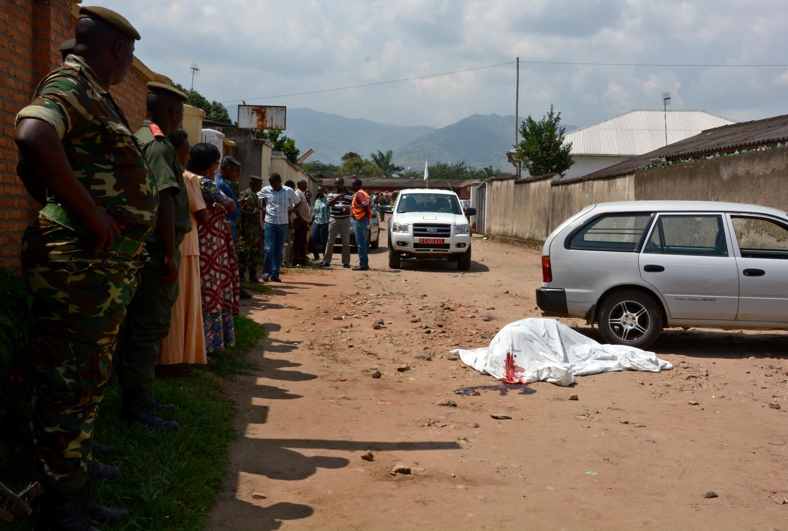 Deadly violence in Burundi
