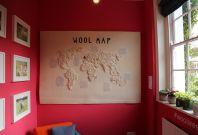 Wool B&B study hosting the \'wool map\'