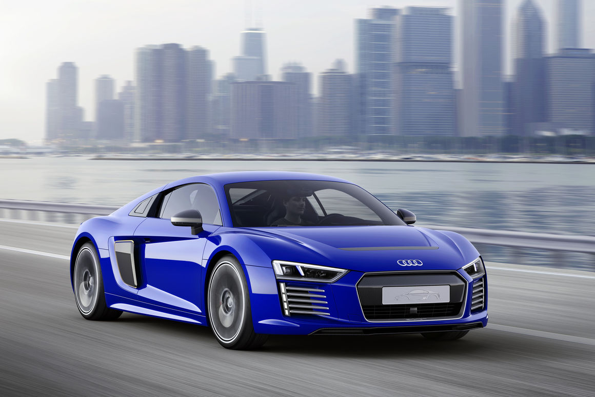 Ordinaire Audi R8 E Tron