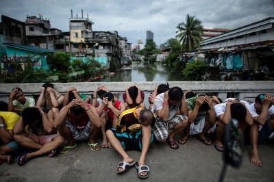 Philippines Duterte war on drugs