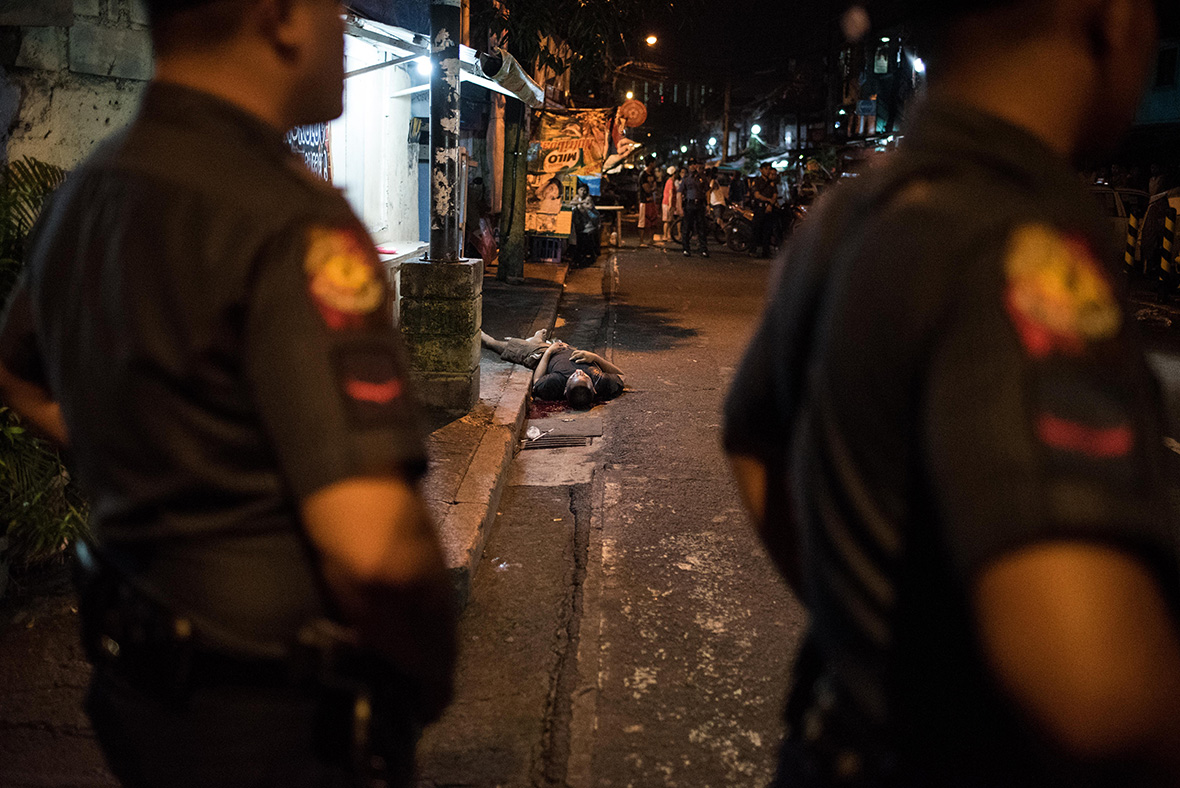 Philippines Duterte war on drugs