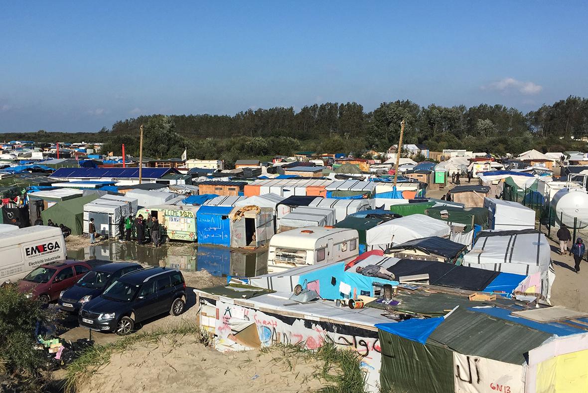Calais Jungle dismantle