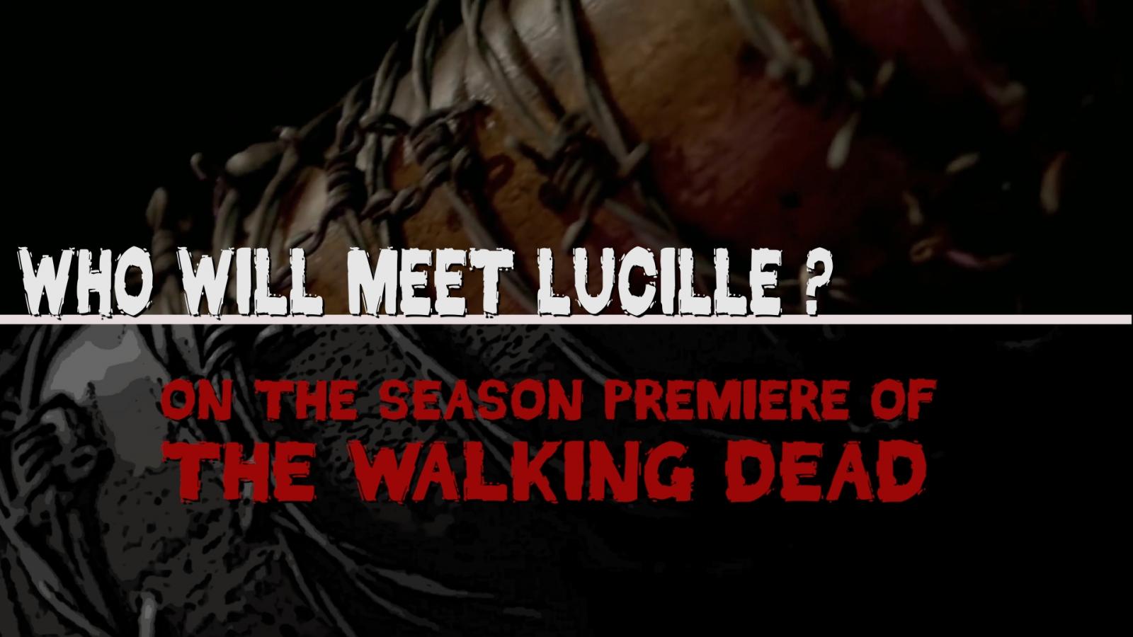 walking dead premiere