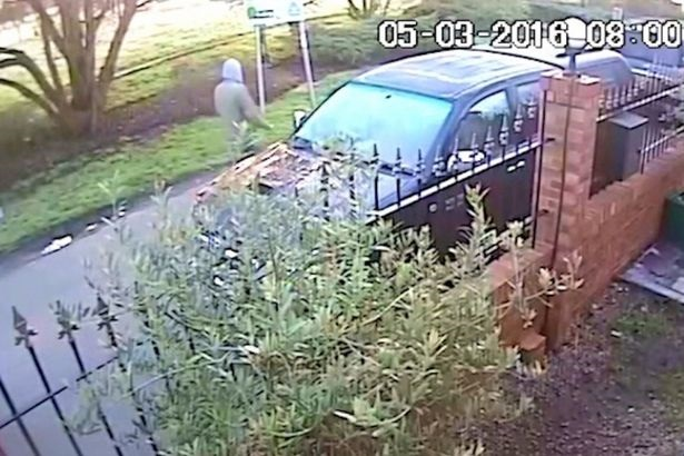 Daylight rapist caught on CCTV