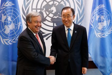Newly appointed next UN Secretary General