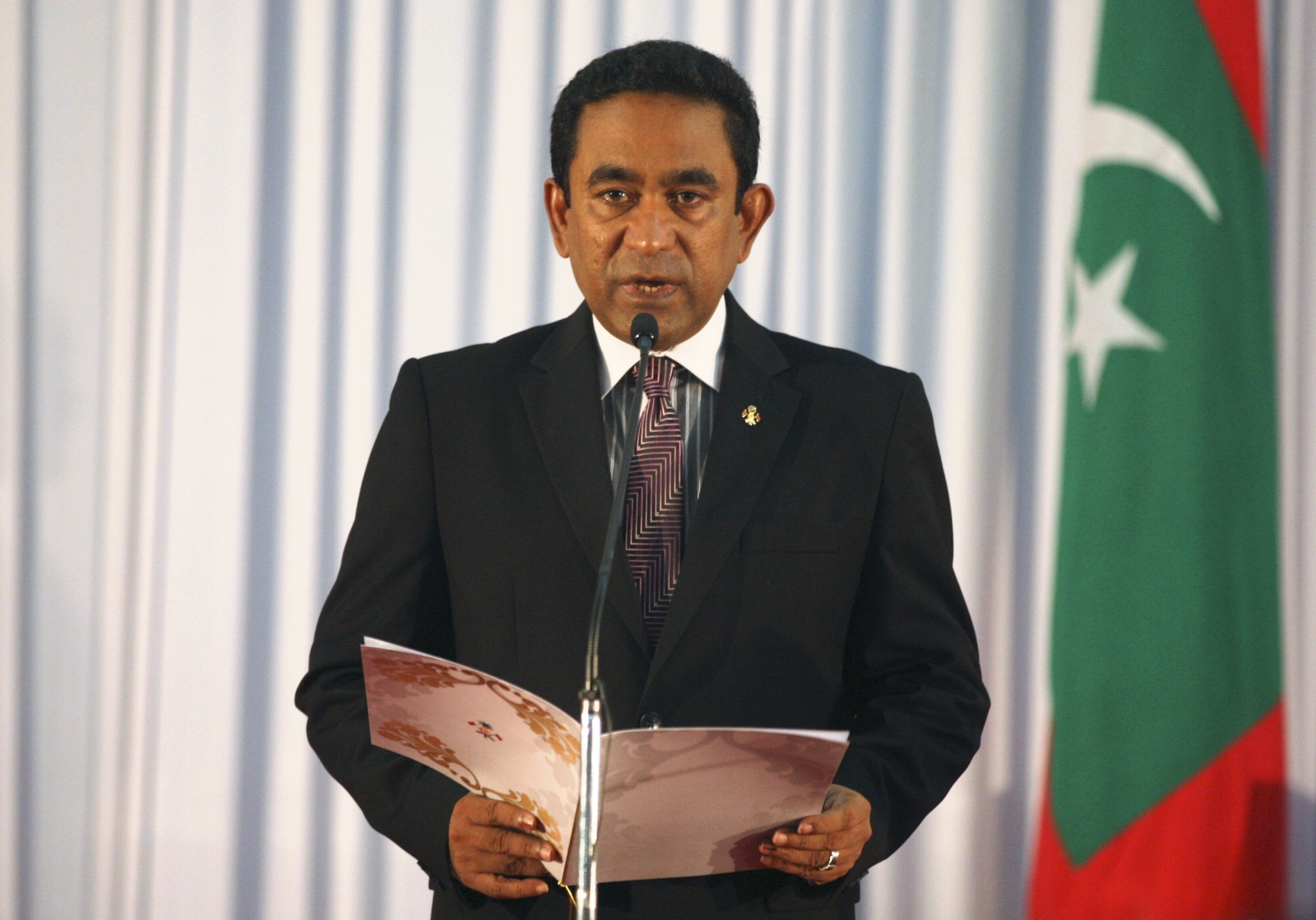 President Abdulla Yameen