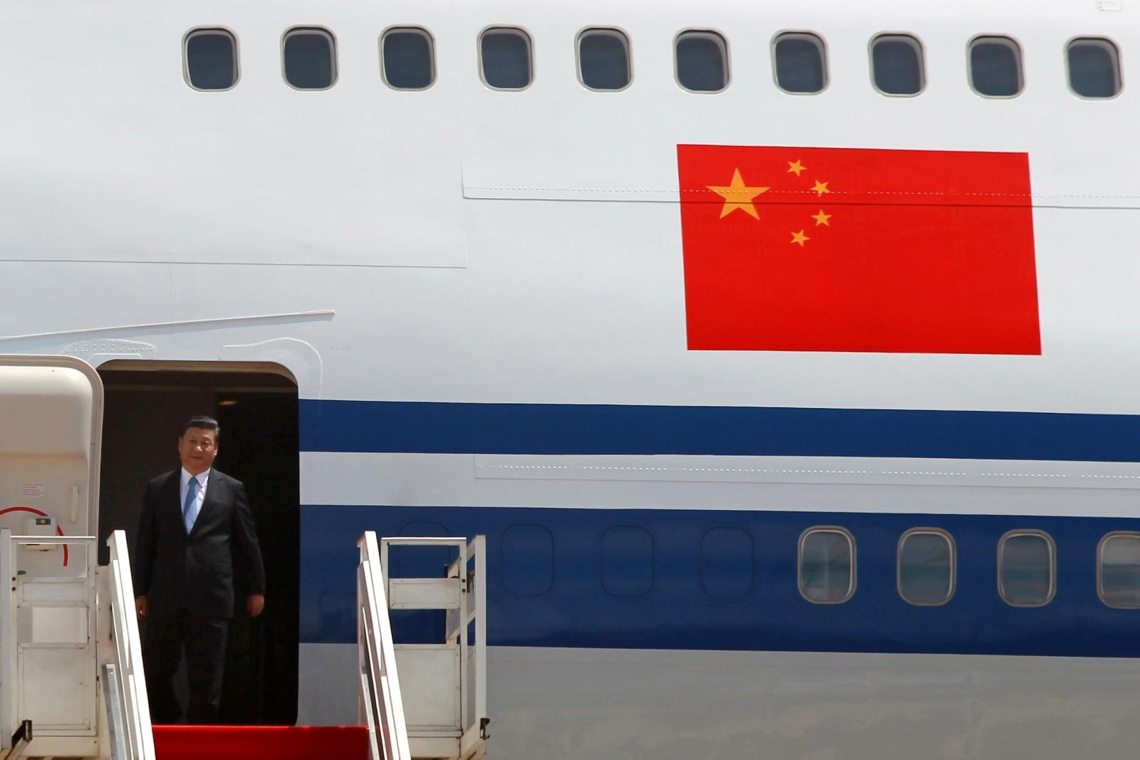 China's Xi Jinping in Bangladesh