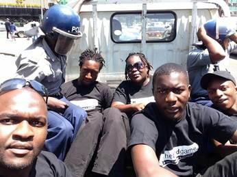 Activists arrested in Zimbabwe