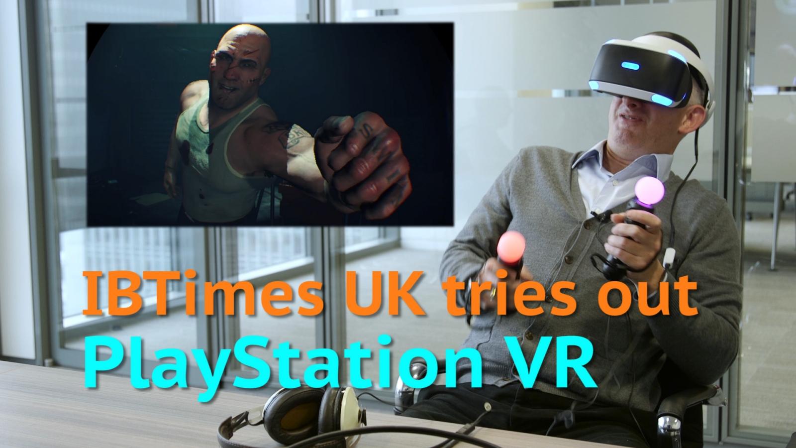 PLayStation VR reaction