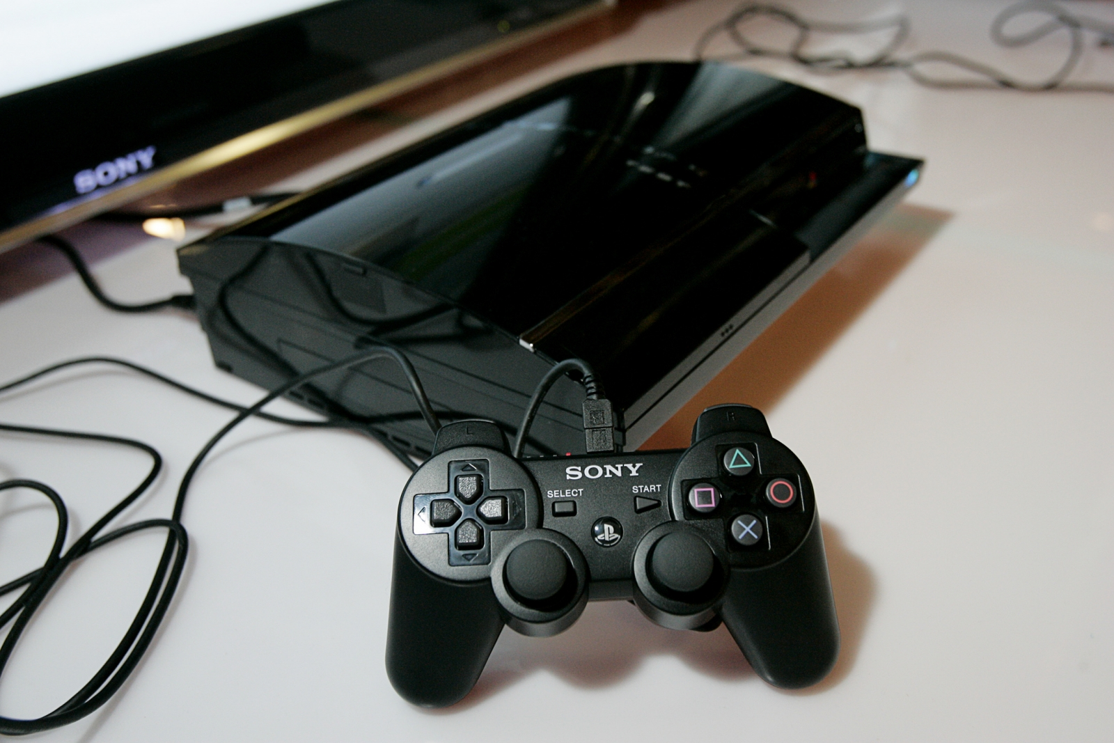 The original launch model of the PlayStation3