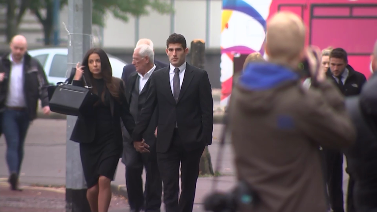 Footballer Ched Evans cleared of raping 19-year-old woman