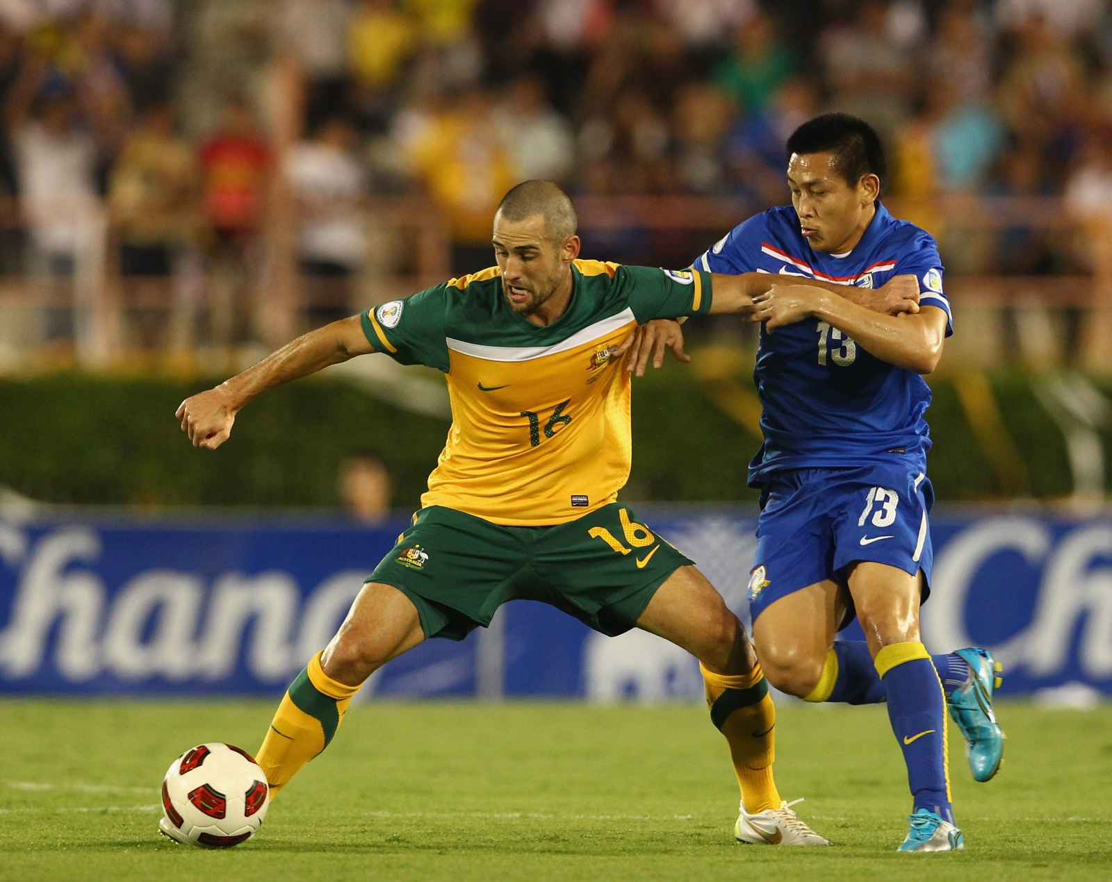 Thailand-Australia football match