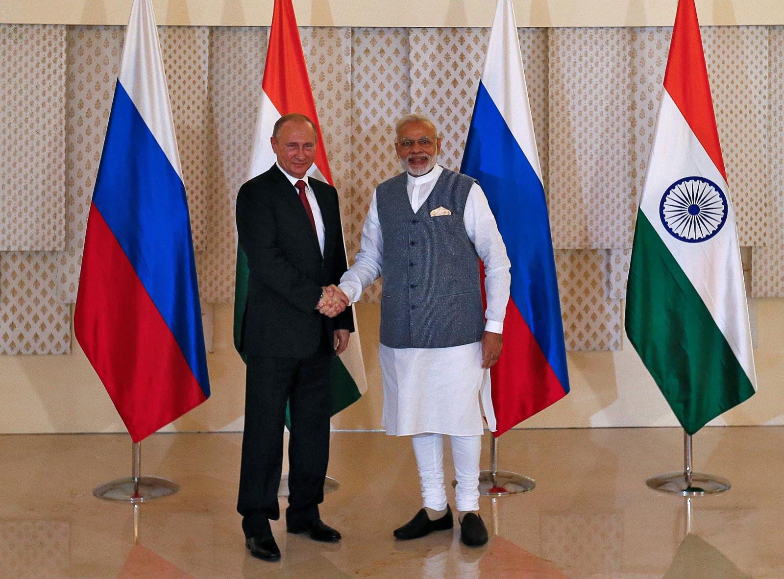 Brics Summit: India and Russia sign $5bn S400 Triumph ...