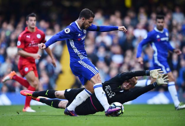 Eden Hazard makes it  2-0