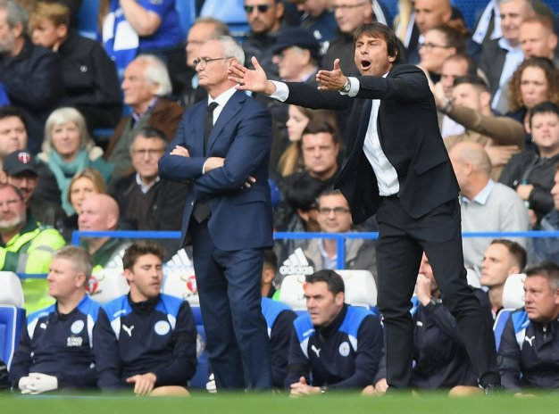 The managers on the touchline