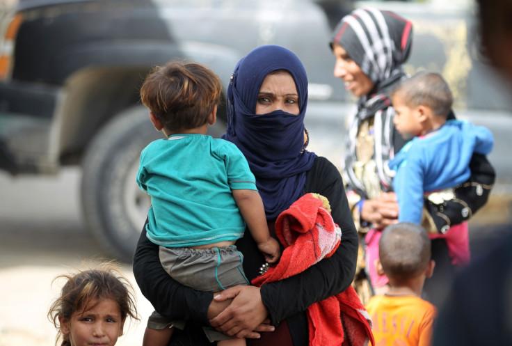 Iraqi refugee families