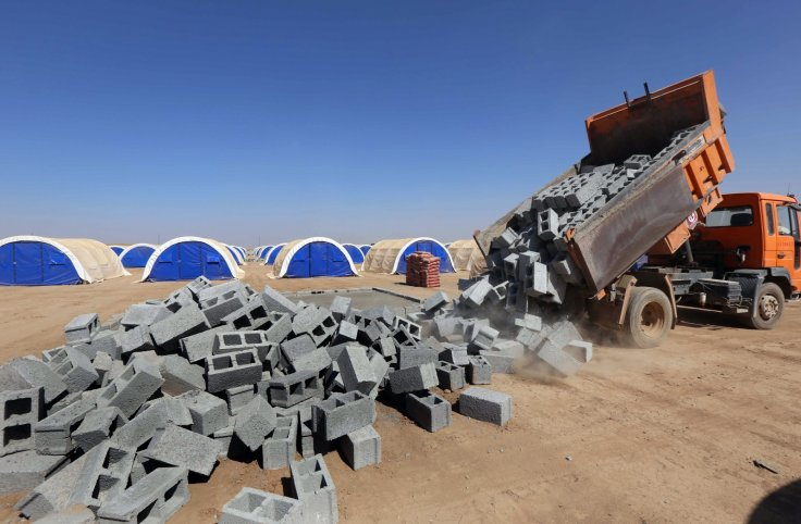 Mosul refugee camps