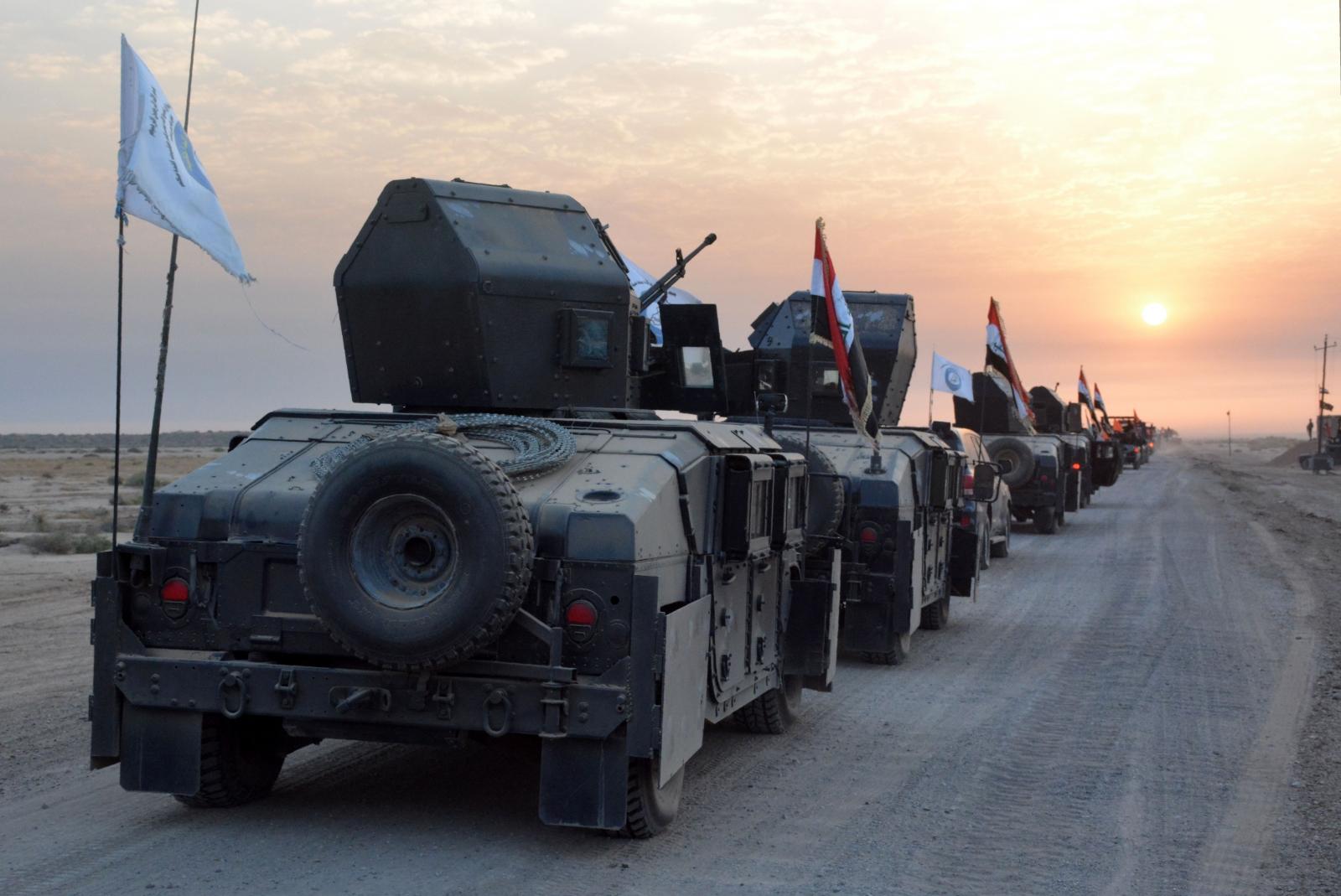 Mosul operation begins