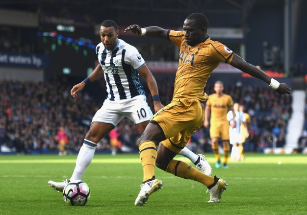 Moussa Sissoko on the ball for Spurs