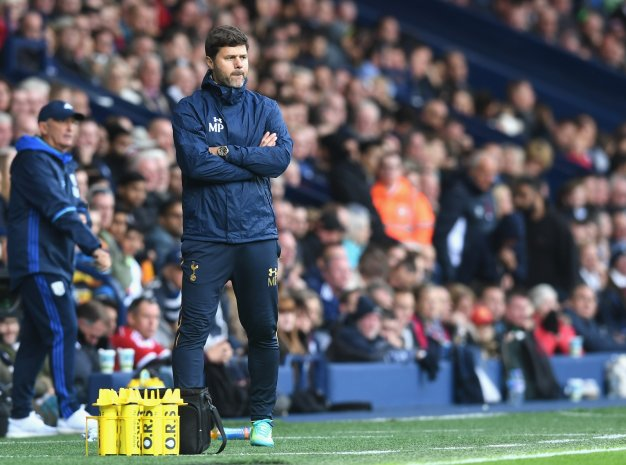 Mauricio Pochettino appears anxious