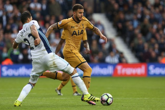 Kyle Walker looks to create something